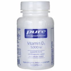 Vitamin D3, 5,000 IU 120 Caps
