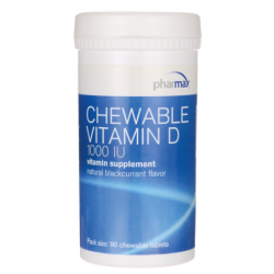 Chewable Vitamin D, 1,000 IU 90 Tabs