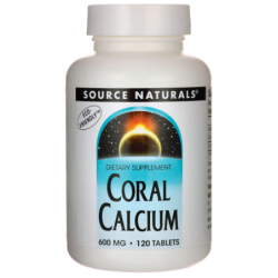 Coral Calcium, 600 mg 120 Tabs