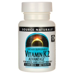 Vitamin K2 Advantage, 2200 mcg 60 Tabs