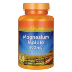 Magnesium Malate, 400 mg 120 Tabs