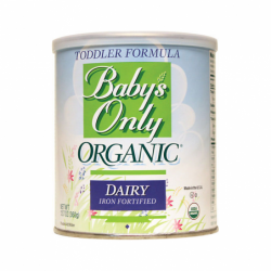 Babys Only Organic Dairy Based Formula Iron Fortified, 12.7 oz Pwdr