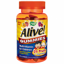 Alive Childrens MultiVitamin Gummies, 90 Gummies