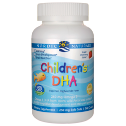 Childrens DHA  Strawberry, 250 mg 360 Chwbls