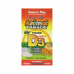Animal Parade Vitamin D3 Black Cherry, 90 Chwbls