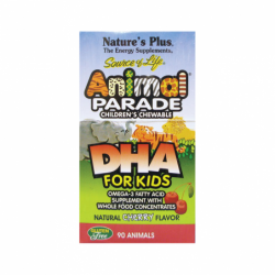 Animal Parade DHA for Kids Cherry Flavor, 90 Chwbls