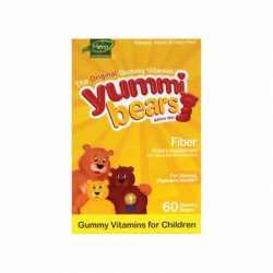 Yummi Bears Fiber, 60 Gummies