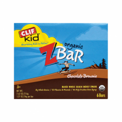 Clif Kid Organic Zbar Chocolate Brownie, 6 Bar(s)