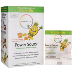 Power Sours Multivitamin & Multimineral  Assorted Flavors, 30 Pkts