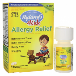 Allergy Relief 4 Kids, 125 Tabs