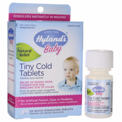 Baby Tiny Cold Tablets, 125 Tabs