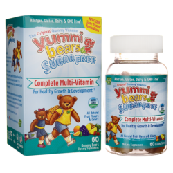 Yummi Bears Sugar Free Complete MultiVitamin, 60 Gummies