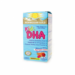 Norwegian Gold Kids DHA, 60 Chwbls