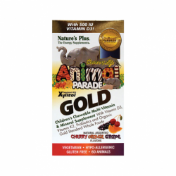 Animal Parade Gold MultiVitamins Assorted, 60 Chwbls