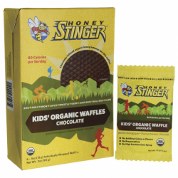 Kids Organic Waffles Chocolate, 6/.5 oz Pkts