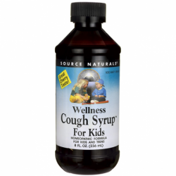 Wellness Cough Syrup For Kids  Cherry, 8 fl oz (236 mL) Liquid