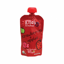 Strawberries and Apples, 3.5 oz Pkg