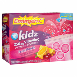 EmergenC Kidz Fruit Punch, 30 Pkts