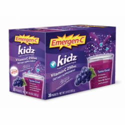 EmergenC Kidz  Grape, 30 Pkts