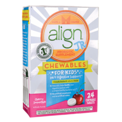 Align Jr Probiotic Supplement for Kids  Cherry Smoothie, 24 Chwbls