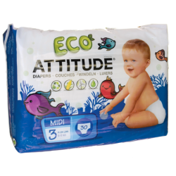 Diapers Size 3 1124 lbs, 30 Ct