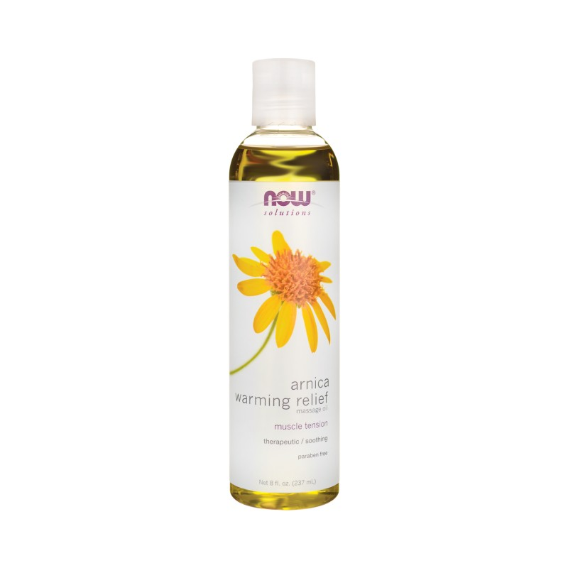 Arnica Warming Relief Massage Oil, 8 fl oz (237 mL) Liquid