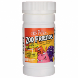 Zoo Friends with Extra C, 60 Chwbls