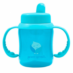 Flip Top Sippy Cup  Aqua, 1 Unit