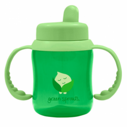 Flip Top Sippy Cup  Green, 1 Unit