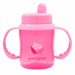 Flip Top Sippy Cup  Pink, 1 Unit
