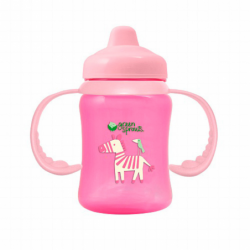 NonSpill Sippy Cup  Pink, 1 Unit