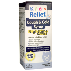 Kids Relief Cough & Cold Nighttime Formula, 8.5 fl oz (250 mL) Liquid