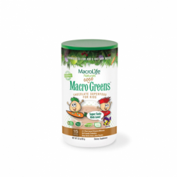 Macro Coco Greens Chocolate Superfood for Kids, 3.3 oz Pwdr