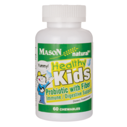Healthy Kids Probiotic with Fiber, 60 Chwbls
