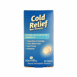 Cold Relief  NonDrowsy, 60 Tabs