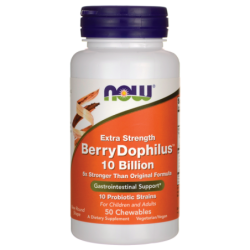 Extra Strength BerryDophilus, 50 Chwbls