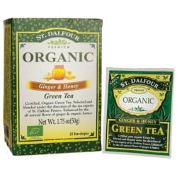 Ginger & Honey Green Tea, 25 Bag(s)