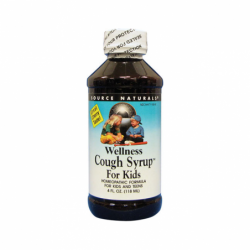 Wellness Cough Syrup For Kids, 4 fl oz (118 mL) Liquid