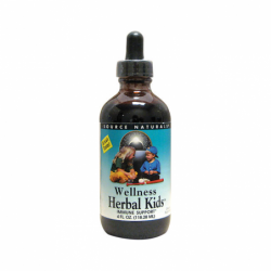 Wellness Herbal Kids, 4 fl oz (118.28 mL) Liquid