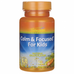 Calm & Focused For Kids  Grape, 30 Chwbls