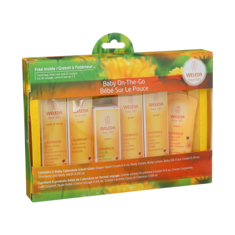 Calendula Baby Care Starter Kit, 1 / 5 piece Kit
