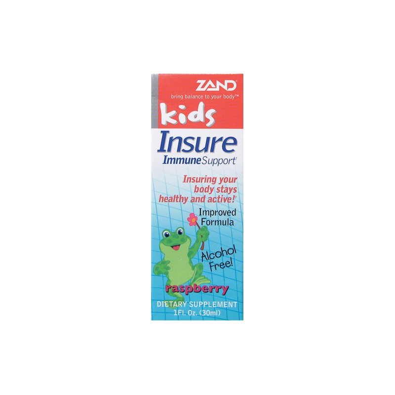 Kids Insure Immune Support Raspberry, 1 fl oz Liquid