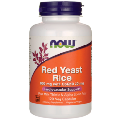 Red Yeast Rice with CoQ10, 120 Veg Caps