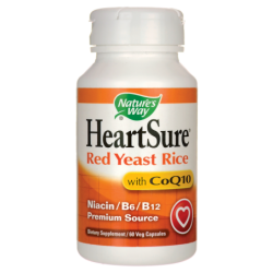 HeartSure Red Yeast Rice with CoQ10, 60 Veg Caps