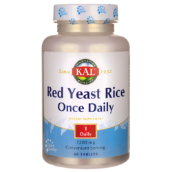 Once Daily Red Yeast Rice, 1,200 mg 60 Tabs