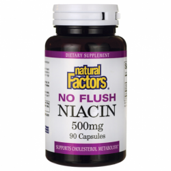 No Flush Niacin, 500 mg 90 Caps