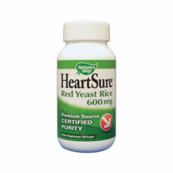HeartSure Red Yeast Rice, 600 mg 60 Vcaps
