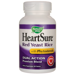 HeartSure Red Yeast Rice with Phytosterols, 60 Tabs