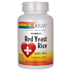 Red Yeast Rice, 600 mg 120 Veg Caps