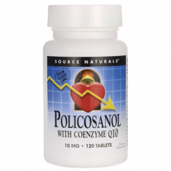 Policosanol with Coenzyme Q10, 120 Tabs